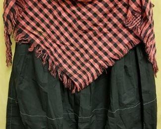 Vintage Halter top and Cinch Hem skirt