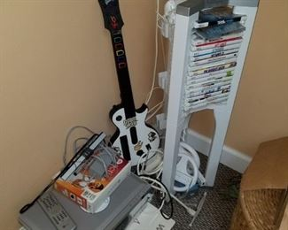 Wii Console with everything you see!!