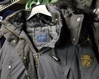 1976 Zara Basic Coat, parachute Anorak with Side Zippers