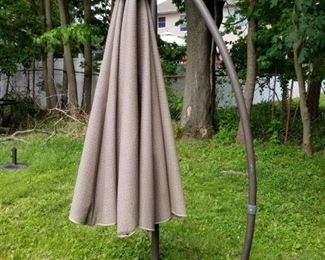 Large Offset Cantilever Patio Umbrella