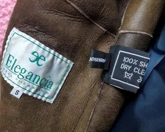 Inside coat w tags