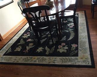 8 x 10 wool rug  $89