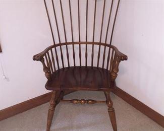 Walter E. Smithe comb back chair $89
