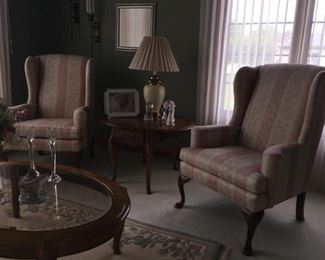 Ethan Allen wind back chairs $135 EACH