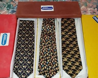 Oaklawn neck ties in boxes