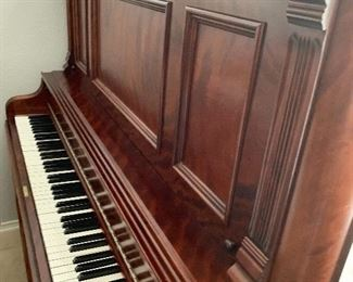 MAKE AN OFFER                                                                         Labeled 1893 Antique refurbished inside and out Starr piano. The value can range from $6000 to $18,000 since it is restored. The gorgeous piece  was my clients grandmothers.