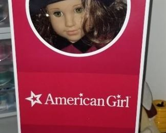"American Girl doll ""Rebecca"" (retired), lots of clothes and accessories"