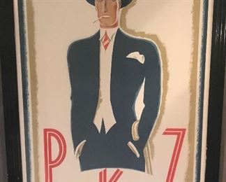 """Man in Blue Suit"" PKZ 1924 Ernst A. Kretchmann"