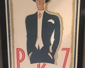 """Man in Blue Suit"" PKZ 1924 Ernst A. Kretchmann"