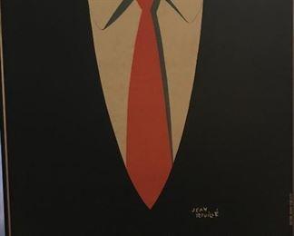La Cravat, 1936 Jean Rouille - no glass on frame