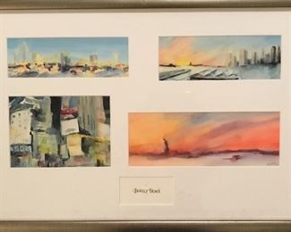 Beverly Brown watercolor prints NYC