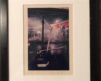 Subway Fire taken by Rudolph Giuliani 1/50