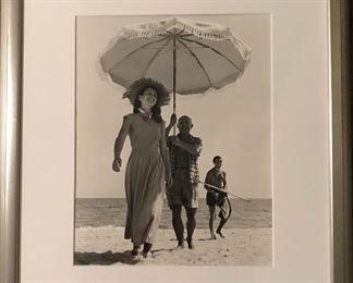 Robert Capa photo Pablo Picasso and Francoise Gilot 1948 Howard Greenberg Gallery NY