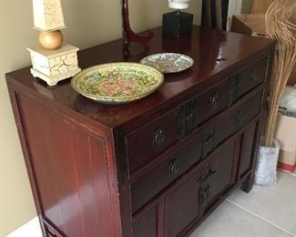 Asian Ming style cabinet. Stunning!