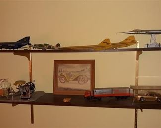 Model Airplanes and Cars