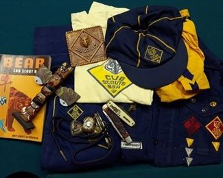 Vintage Cub Scout Uniforms and Collectibles