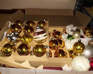 Glass Ornament Bulbs
