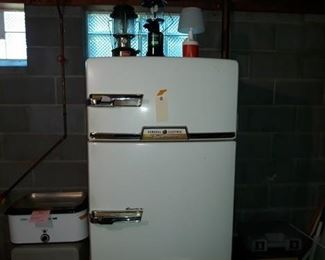 1950s General Electric Combination Refrigerator