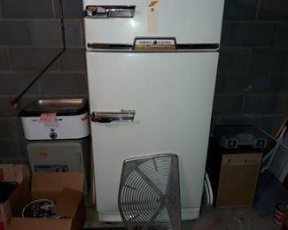 1950s General Electric Combination Refrigerator