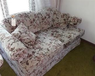Floral Patterned Sofas