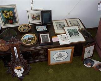 Barometer, Paintings, Prints, and Wall Hangings