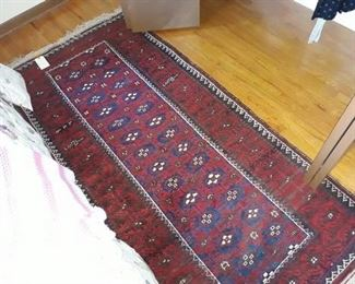 Hand-Knotted Persian Baluch Rug