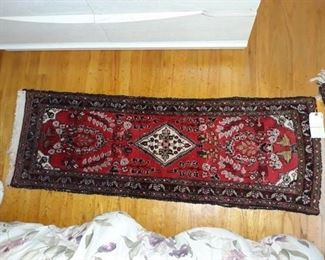 Hand-Knotted Persian Hamadan Runner