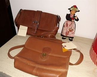 Coach Leather Handbags