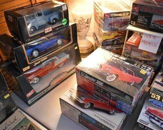 NIB CAR MODELS