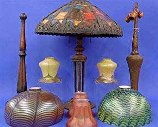 Panel Lamp, Lamp Bases & Shades