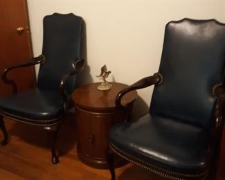 MCM, Old Hickory Company, leather executive office chairs