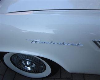 1957 Thunderbird T-Bird Re-Built Engine 40,000 miles 2 Tops, Hard and Soft, 312 V8 4 Barrel Carburater, Older Restoration. Has 70,000original miles but with rebuilt engine, 10,00 miles.