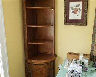 Corner shelves, 2 available