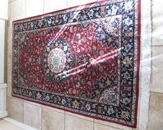 Hand knotted 3x5 Persian rug