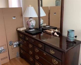 Kincaid Dresser & Mirror