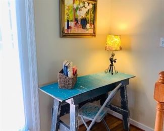 Desk & Chair has been sold on presale, if you would like to take advantage of presales, Like my business page on fb Angela's Stuff and click on the estate sale link.
