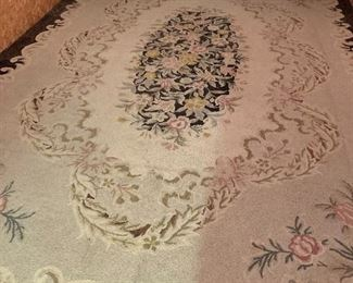 Antique Wool Hook Rug