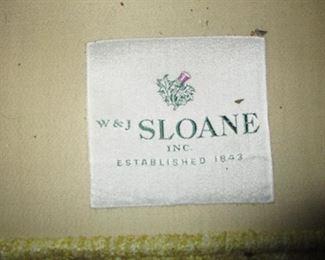 W & J Sloan Sofa two Piece