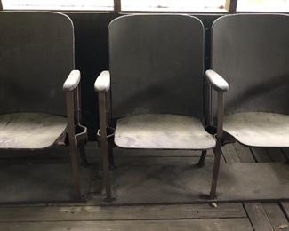 Vintage stadium seating (auditorium) chairs - 3