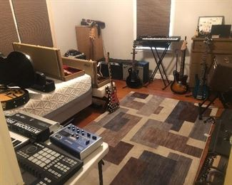 Several high end Guitars and Amps