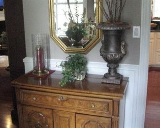 Thomasville Serving Cabinet, Lots of Beautiful Mirrors...