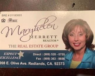 Maryhelen is the agent representing the house sale.