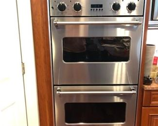 Buy it now for $1,300.00.  Email info@NapervilleEstateSales.com for details.    Viking professional 5 series double oven model number: VED0130SS  Mid July Pick up