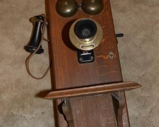 Antique Wall Phone, Telephone