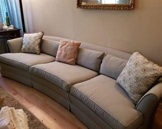 aqua couch
