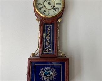 D&A wall clock