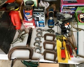 Clamps, vices, vice, tools.