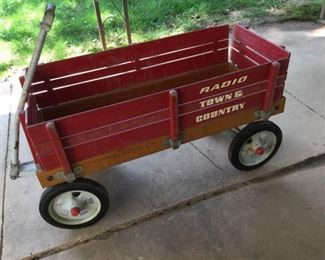 Vintage Red Wagon https://ctbids.com/#!/description/share/171986
