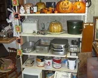 Kitchen Items & Halloween