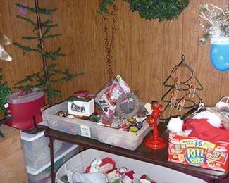 Vintage Holiday & Fir Tree